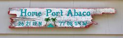 Island Paradise sign