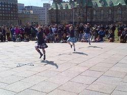 Tartan Day - Sword Dance