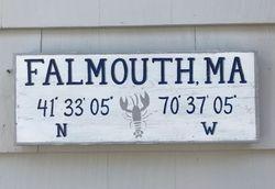 Falmouth, MA sign