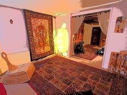 Buddha Room front yoga room