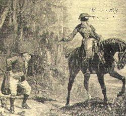 Highwayman. 1670.
