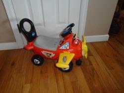 Mickey Mouse Plane Ride-On / Walker Toy by Kiddieland Disney - $30