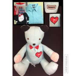 Father & Baby Memory Bear
