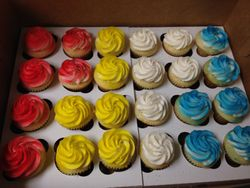 Cupcakes for a Mickey Mouse Theme