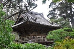 Main Gate Roof, Japanese Tea Garden