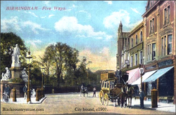 Horse Omnibus. c1904.