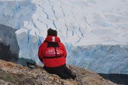 19. Vue sur le glacier.
