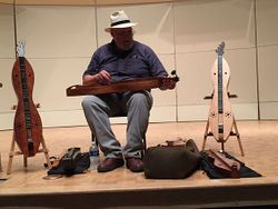 An array of dulcimers