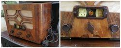 1930 m. radija Philips. Kaina 87