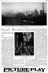 25 Milton Sills - Steel Worker