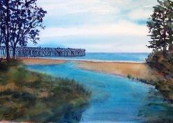 San Simeon Pier - South