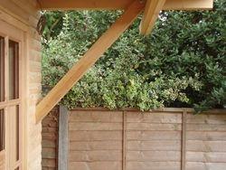 overhang bracing