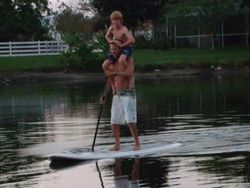 Tower paddling - stand up paddleboarding