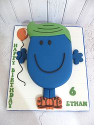 Ethan's 6th Birthday Cake