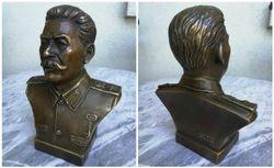 Stalino biustas. Bronza. Kaina 107