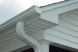 Aluminum k-style gutter