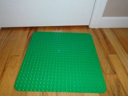 LEGO DUPLO Large Green Building Plate 2304 - $15