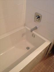 Nice tub install