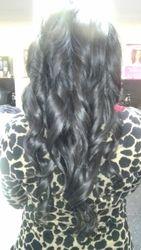 Long, loose curls