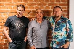 Rob Vazey, Midge Marsden & Jesse Wilde