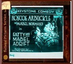 1916 FATTY AND MABEL ADRIFT