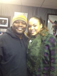 Shaundell Newsome & Demetria McKinney At The The 'Morning Mayhem Show' on December 31, 2012