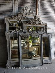 SOLD #25/ VIGNETTE MIRRORS LOUIS XVI SOLD SOLD