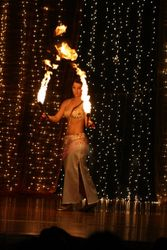 Fire Poi Performance Solo 2