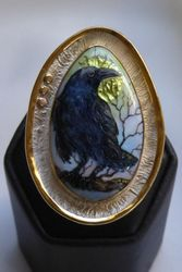 "Raven & Moon ""RING"" - SOLD"