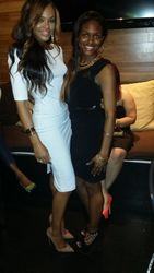 "Demetria McKinney and Chelby attends  KONTROL ""Fabulous At Every Age"" Issue Release Party - Bar One"