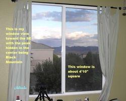My LV SE window