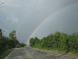 Cayman Brac - Double Rainbow