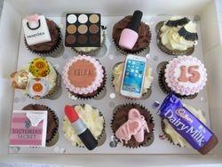 Keira's 15th Birthday Cupcakes
