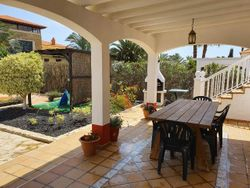 Shaded Patio area and BBQ area