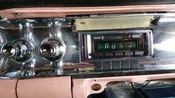 57 Fleetwood New AM FM Radio with Aux Input