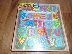 Alex Toys String My ABC's- Brand New in Box - $20