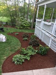 Mulch Installed