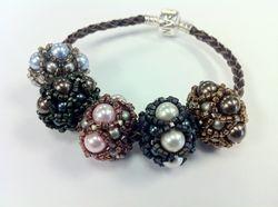 Beaded European Beads