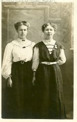Minnie Fisher and Mary Ann Kyler