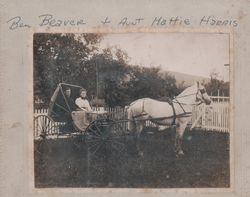 Benjamin Beaver and Mattie Harris