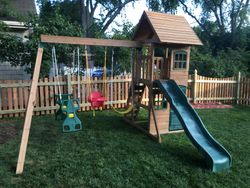 Big Backyard Windale Swing Set assembly - glen burnie MD