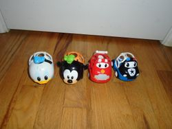 Constructive Playthings OBALL Go Grippers Emergency & Disney Vehicles - $12