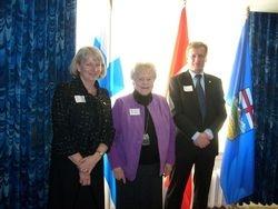 Government House Reception for Ambassador Piiponen