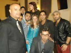 With Navin Kundra