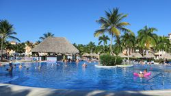 Quiet pool at Bahia Principe