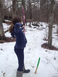 Youth League Outdoor Shoot - Group 1 - 3/29/14