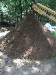 Same topsoil after screening