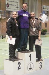 Yves, 3ro en Tuishou >75kg