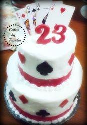 Turning 23 Cake