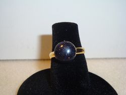 Blue Goldstone (Gold) (Item #5051) $5.00